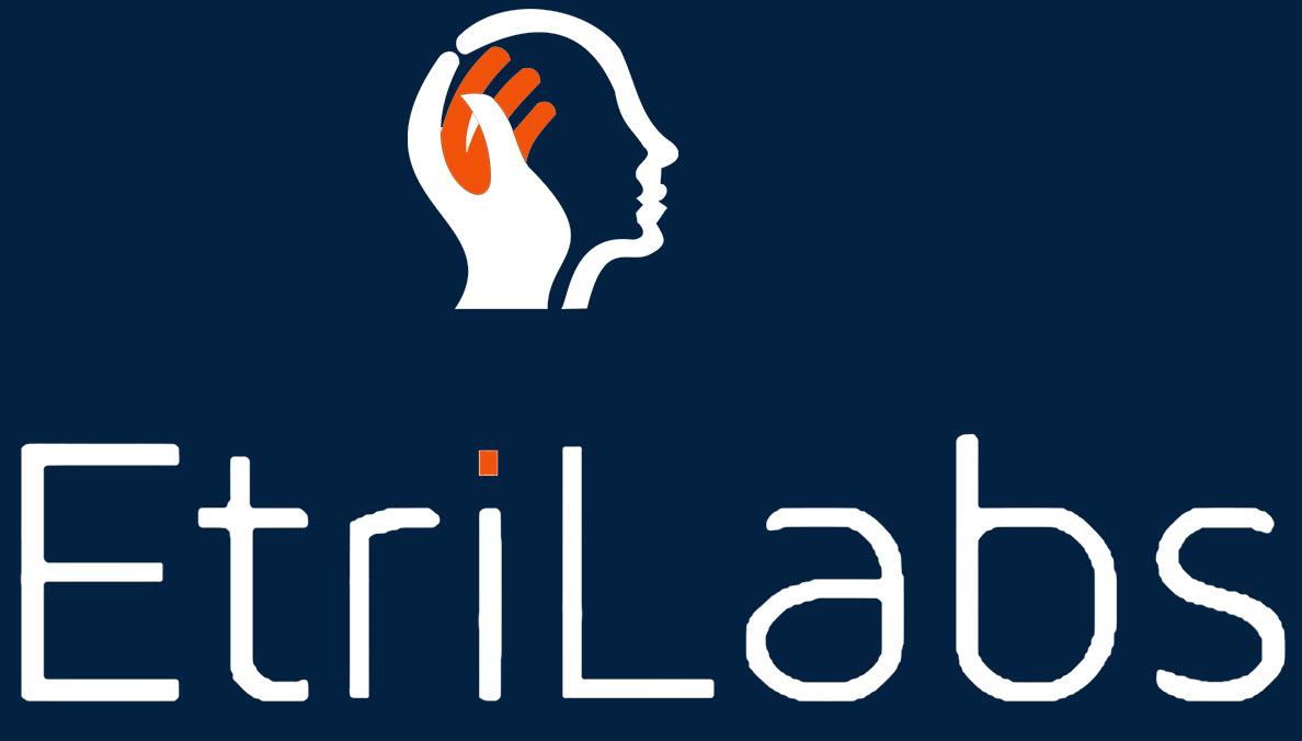 EtriLabs logo white